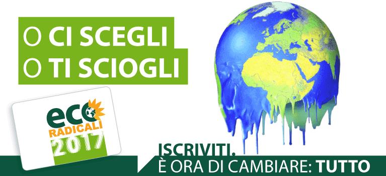Sostienici: Iscriviti o fai una donazione a EcoRadicali